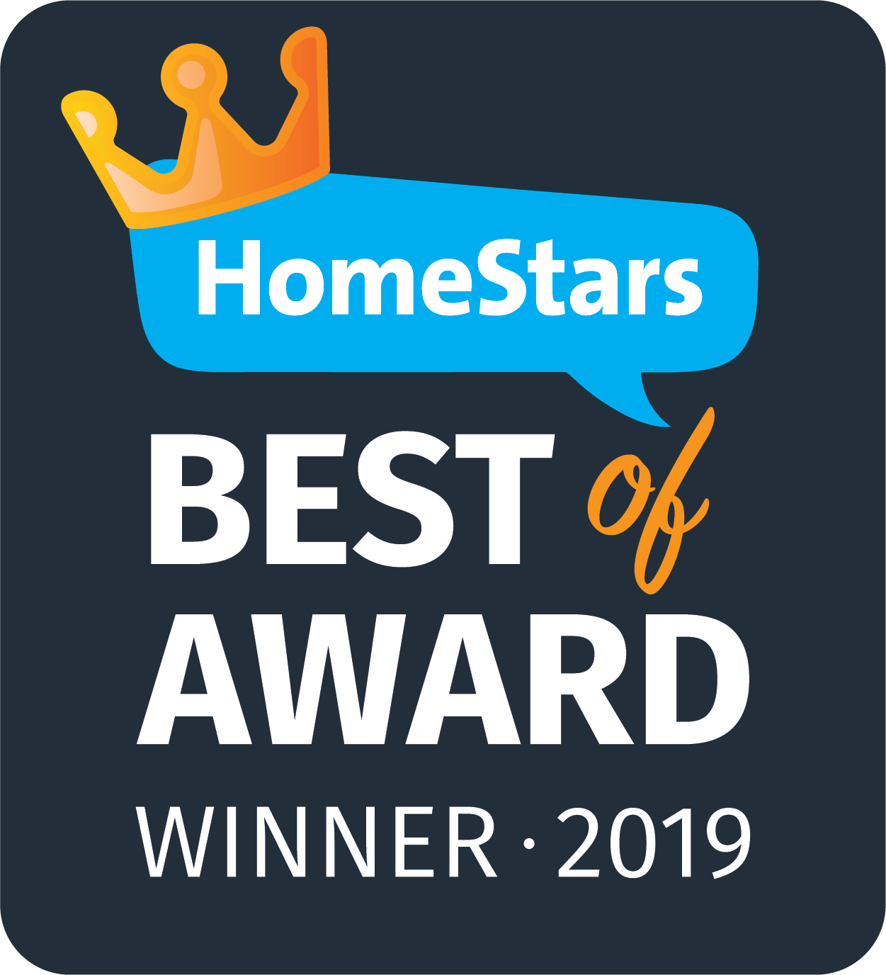 HomeStars Awards 2019