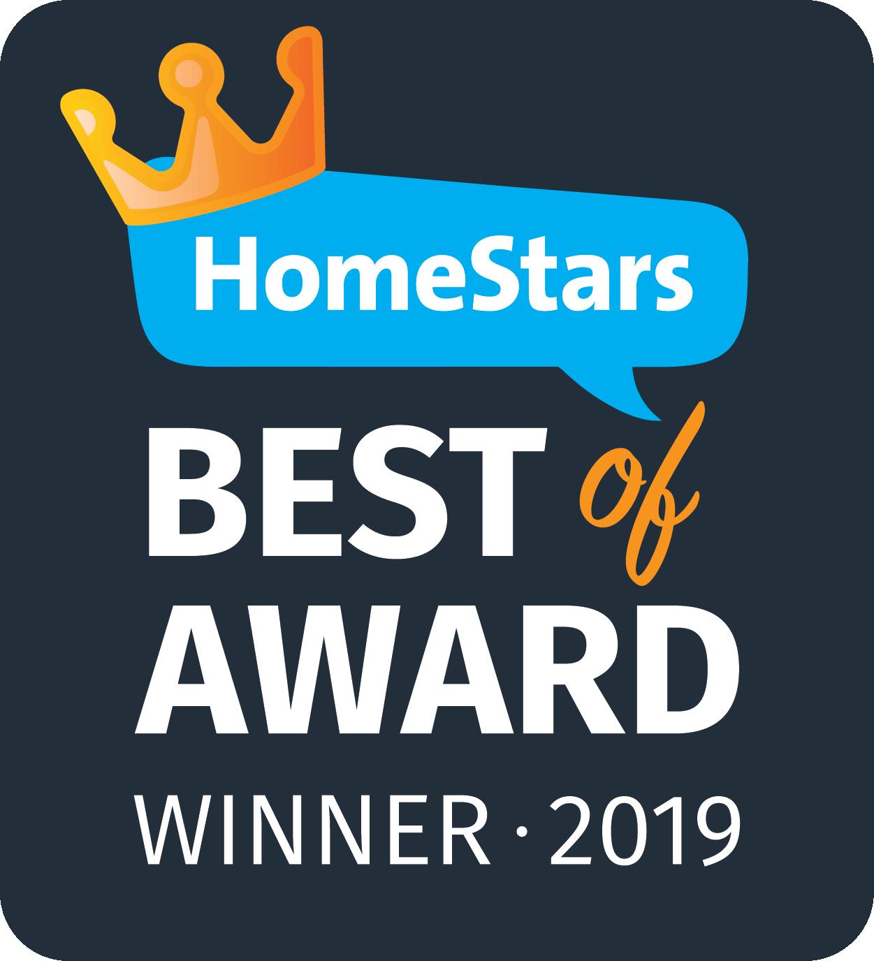 HomeStars Awards 2019