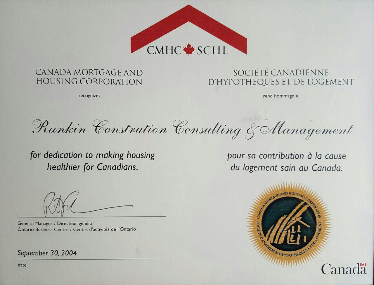 construction management certificate rankin environmental today