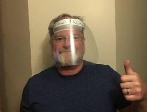 Homemade DIY Face Shield